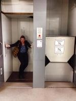 """A """"Paternoster"""": a lift with no doors."""